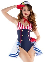 SKIMPY SAILOR COSTUME