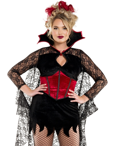 DARK CASTLE VAMPIRE COSTUME - PLUS