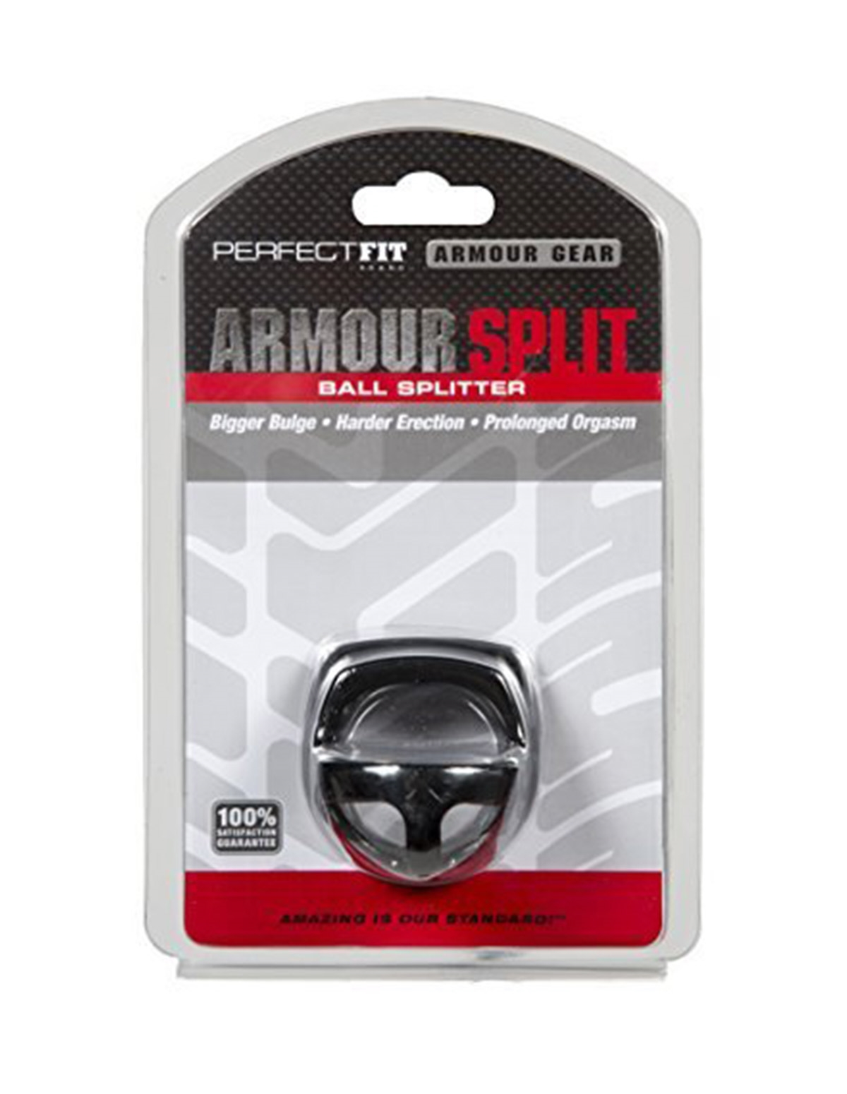 Armour Split Ball Splitter Cock Ring