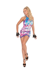 SEAMLESS TIE DYE DRESS
