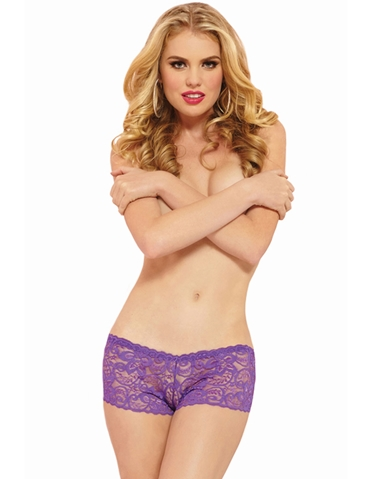 ALLOVER LACE BOYSHORT
