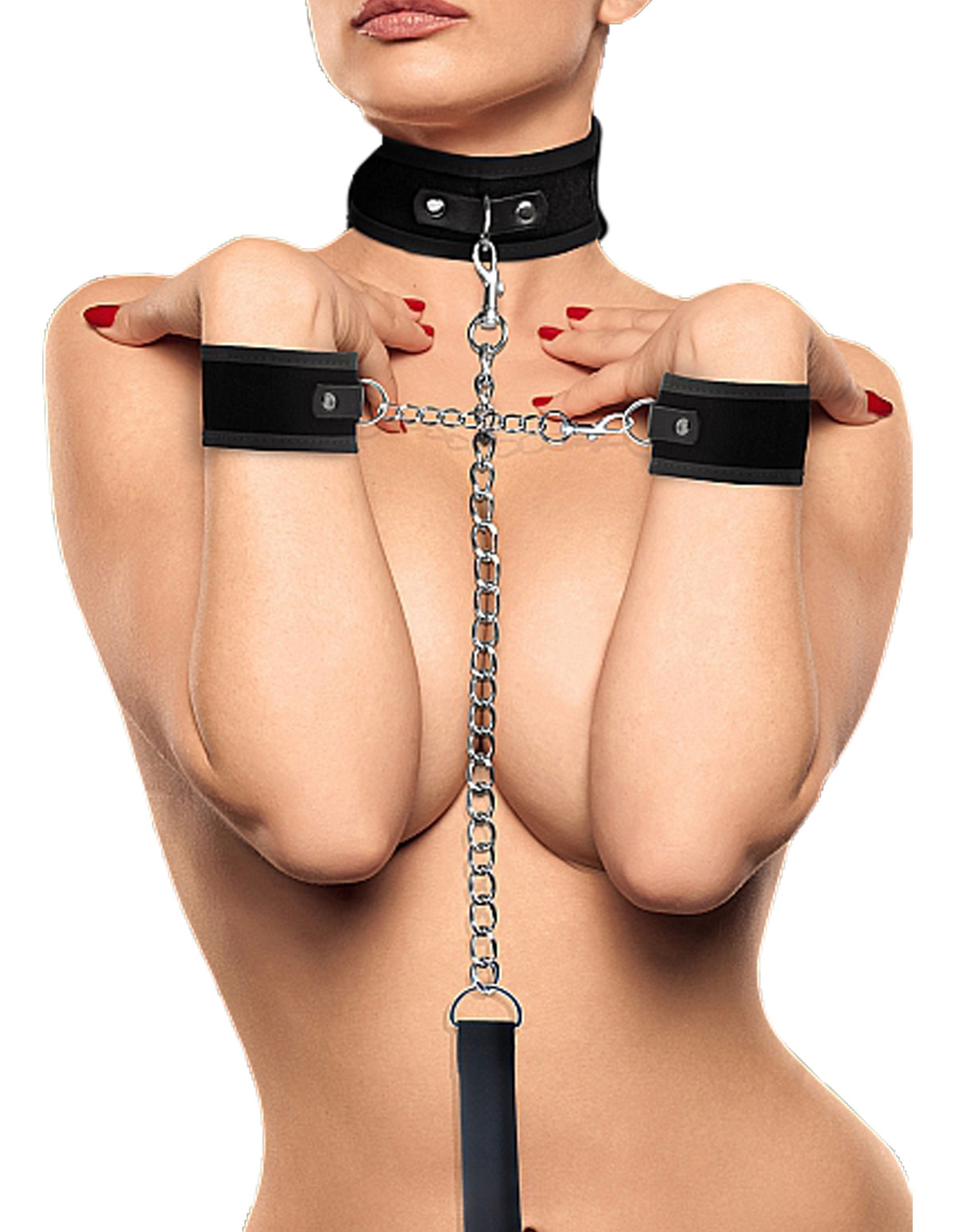 Velcro Collar & Cuffs Set