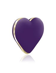 RIANNE S RECHARGEABLE HEART VIBRATOR PURPLE