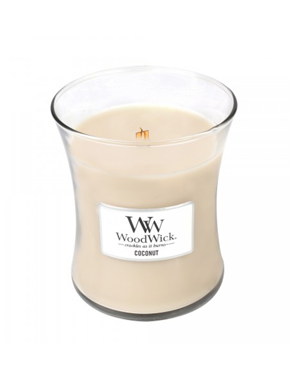 Coconut Medium Woodwick Candle