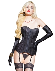 TIMELESS LACE OVERLAY CORSET