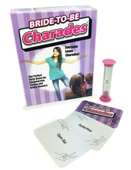 BRIDE TO BE CHARADES GAME