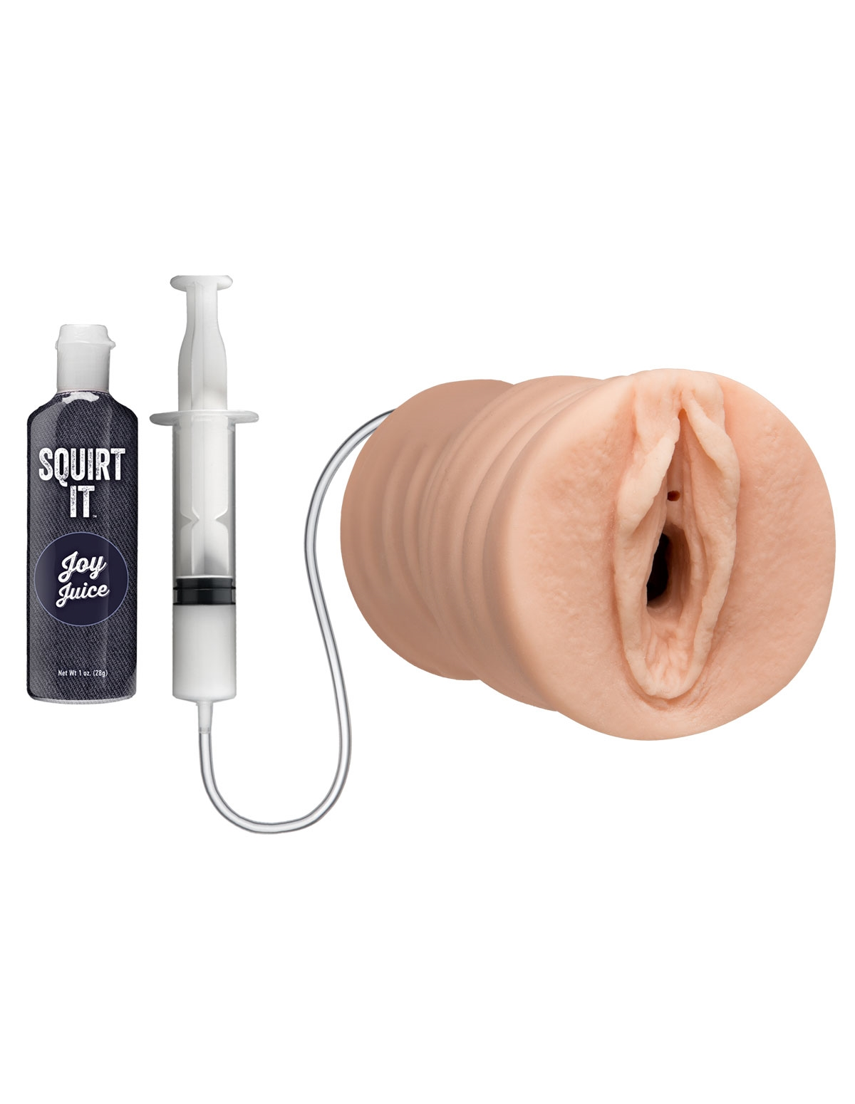 Squirt It: Squirting Pussy Stroker - Light Skin