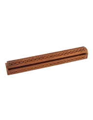 COFFIN INCENSE BURNER FOR 19 INCH STICK