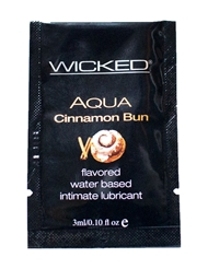 AQUA CINNAMON BUN LUBE PACKETTE