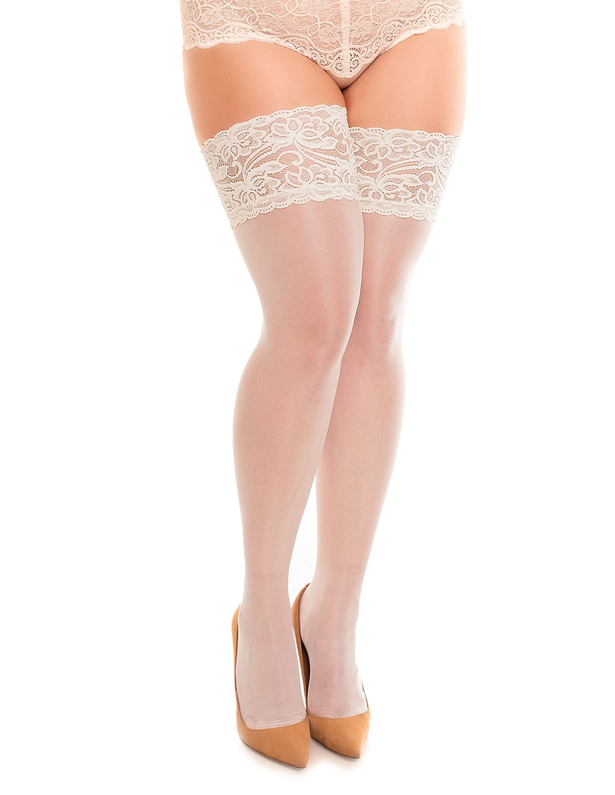 Luxury 20 Stockings - Plus