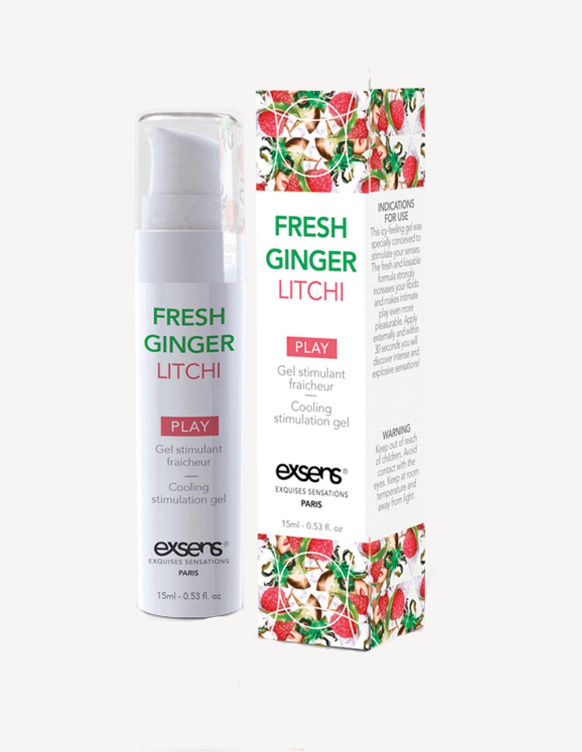 Exsens Ginger Lychee Arousal Gel