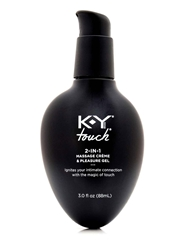 KY TOUCH 2-IN-1 MASSAGE CREME & GEL 3 OZ