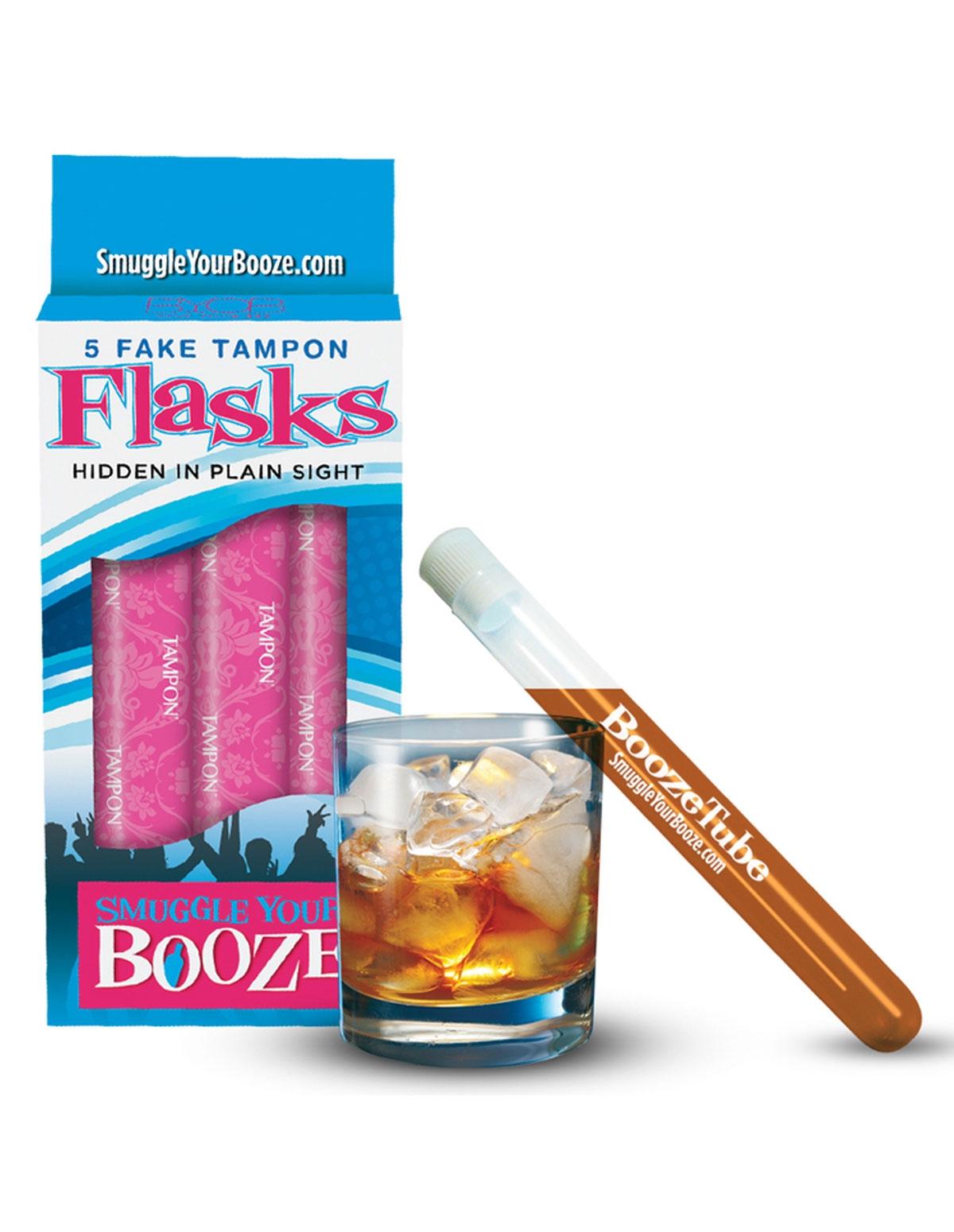 Smuggle Your Booze - 5 Booze Tubes