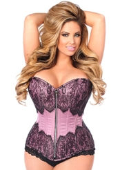 CLASSIEST CURVES STEEL BONED CORSET - PLUS