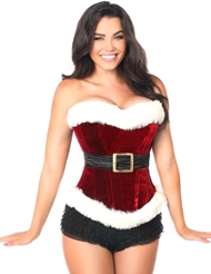 ULTIMATE SANTA GIRL CORSET