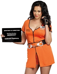 LOCKED UP COSTUME - PLUS