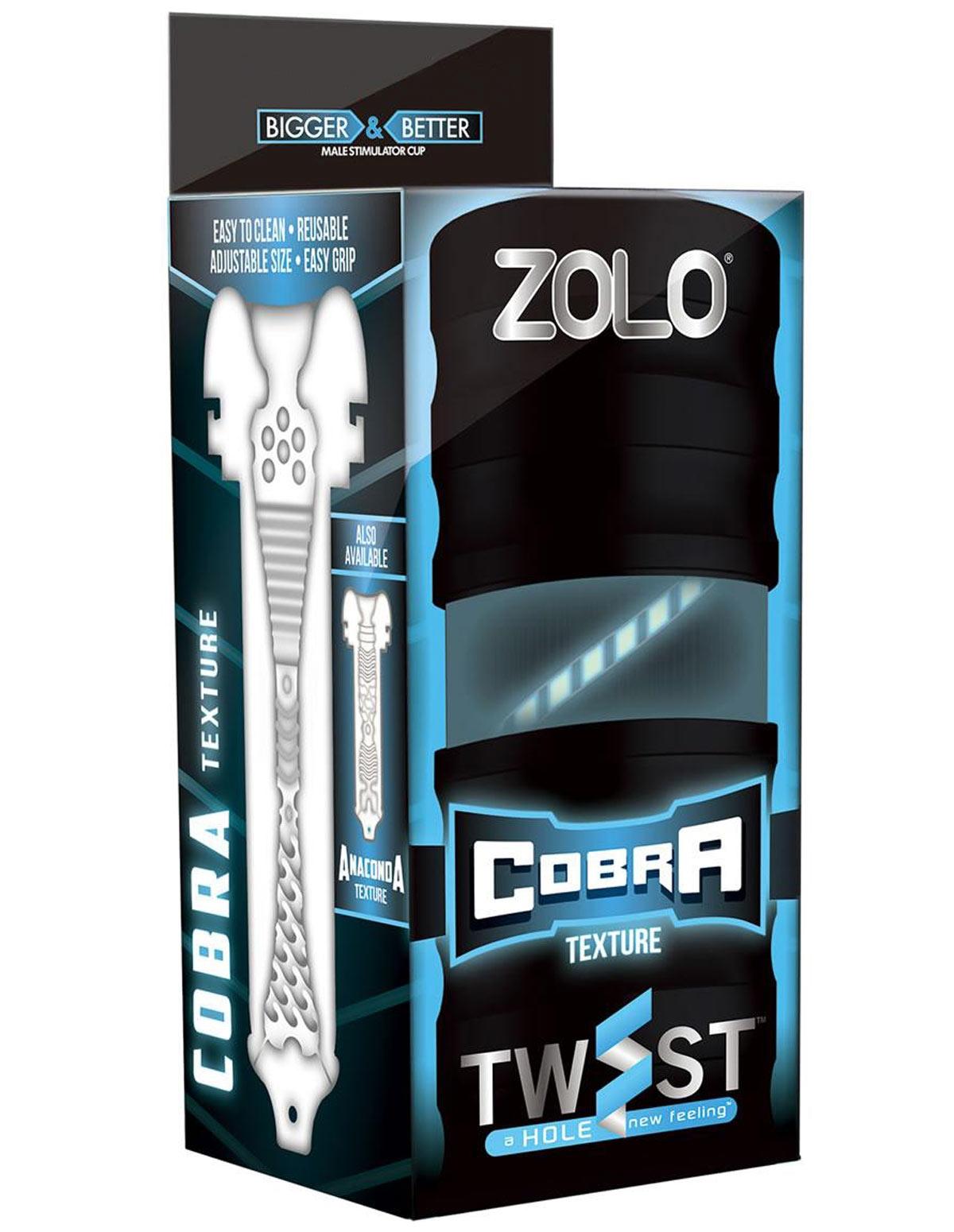 Zolo Twist Cobra Masturbator