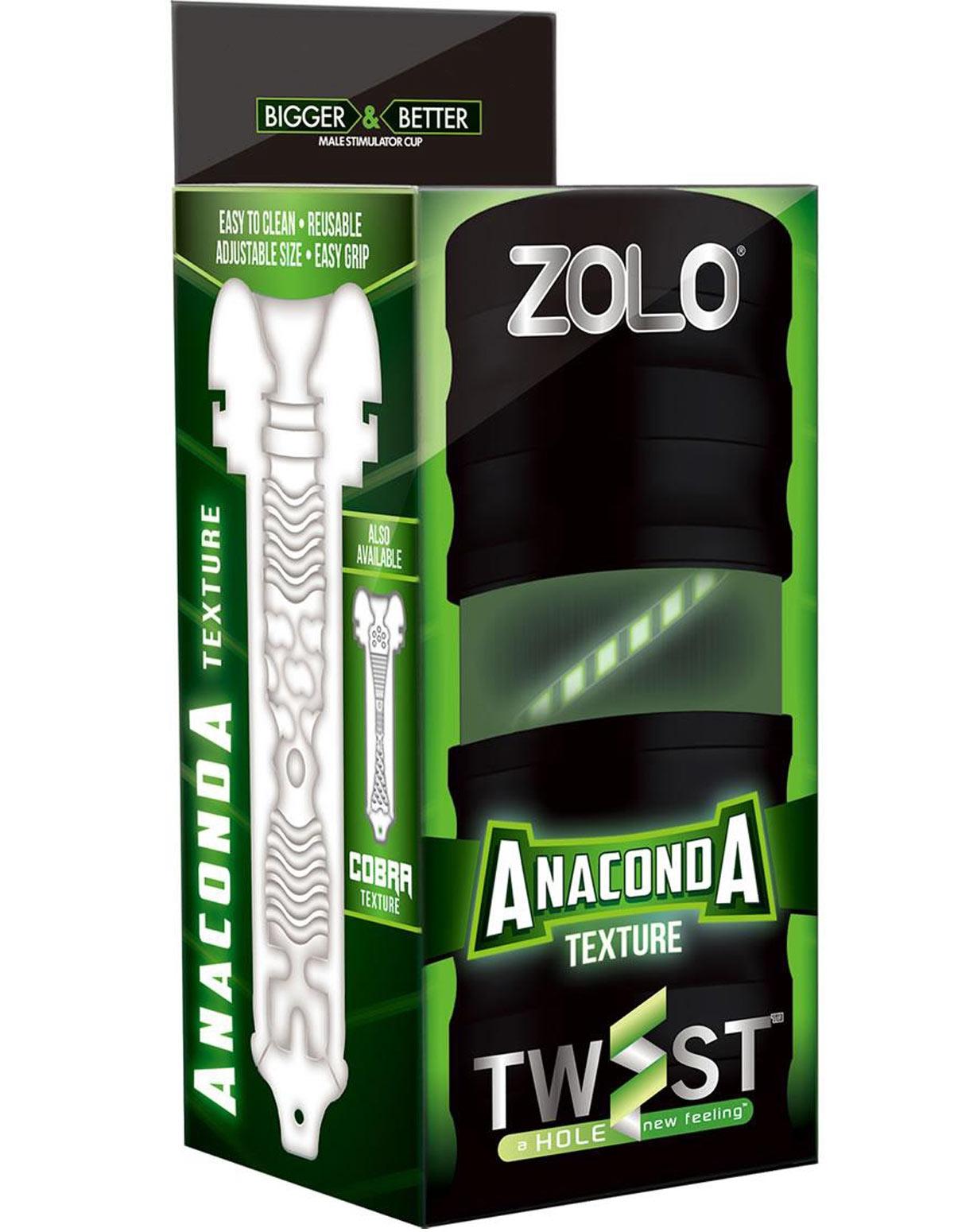 Zolo Twist Anaconda Masturbator
