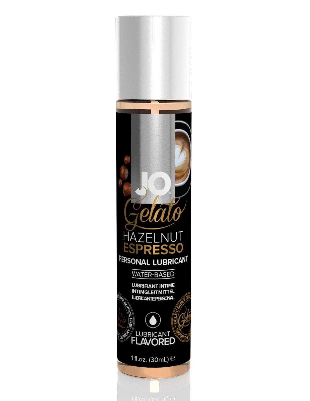 Jo Gelato Hazelnut Espresso 4 Oz Lube