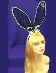 LACE RABBIT EARS