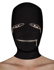 EXTREME ZIPPER MASK WITH EYE & MOUTH ZIP