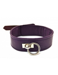 ROUGE PURPLE LEATHER COLLAR