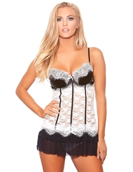 EVENING AFFAIR BABYDOLL
