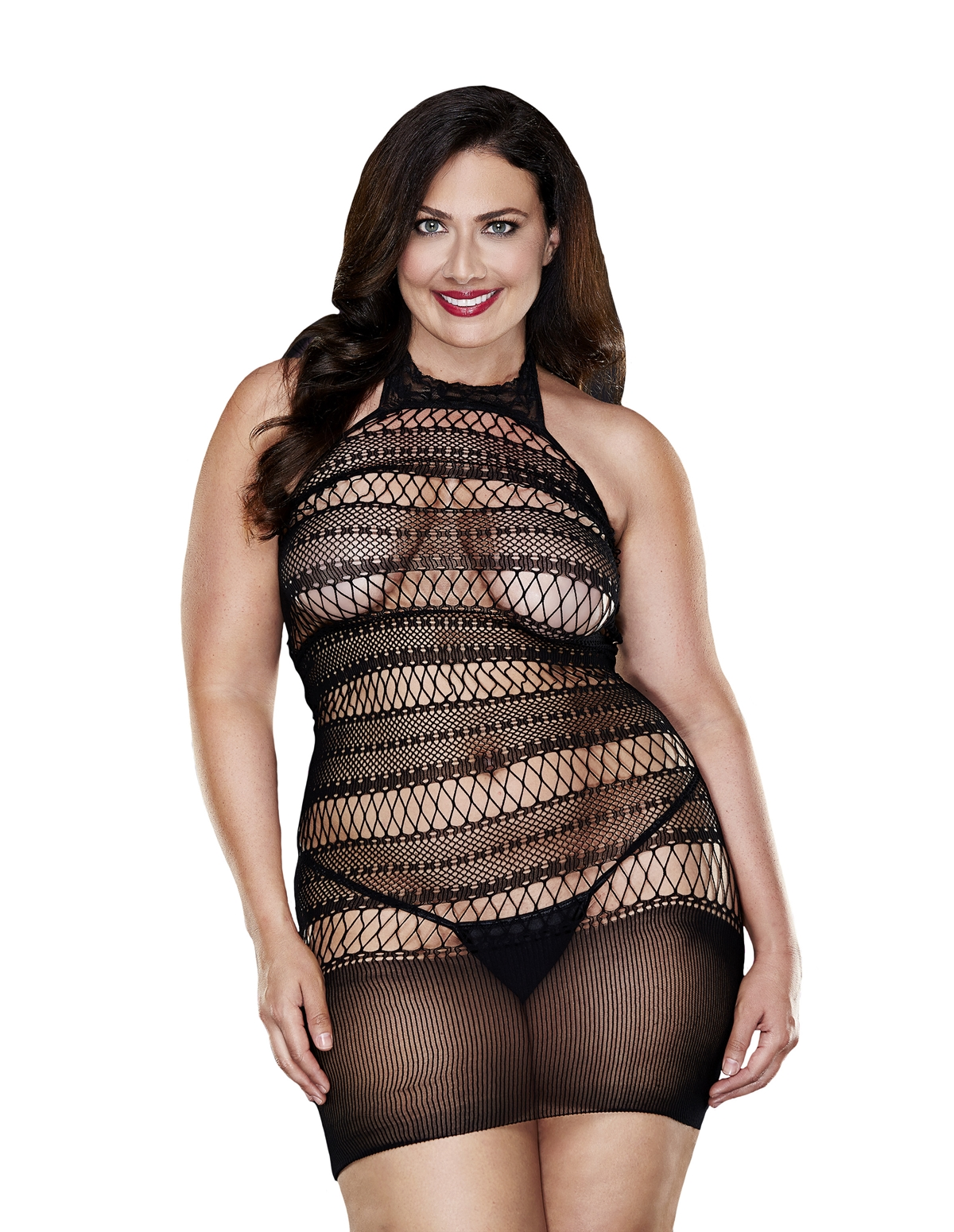Baby Boo Seamless Mini Dress - Plus