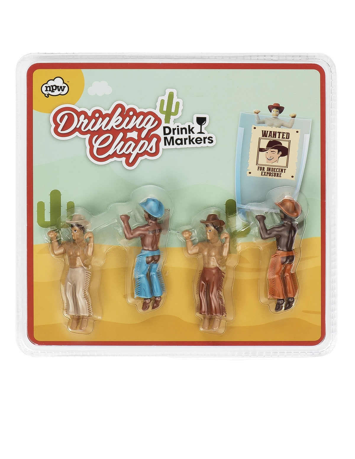 Drinking Chaps Wine Glass Markers