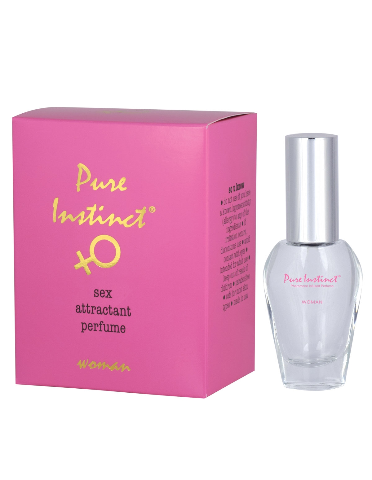 Pure Instinct Pheromone Infused Perfume For Her