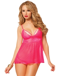 GALLOON LACE BABYDOLL