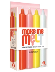 MAKE ME MELT PASTEL DRIP CANDLES