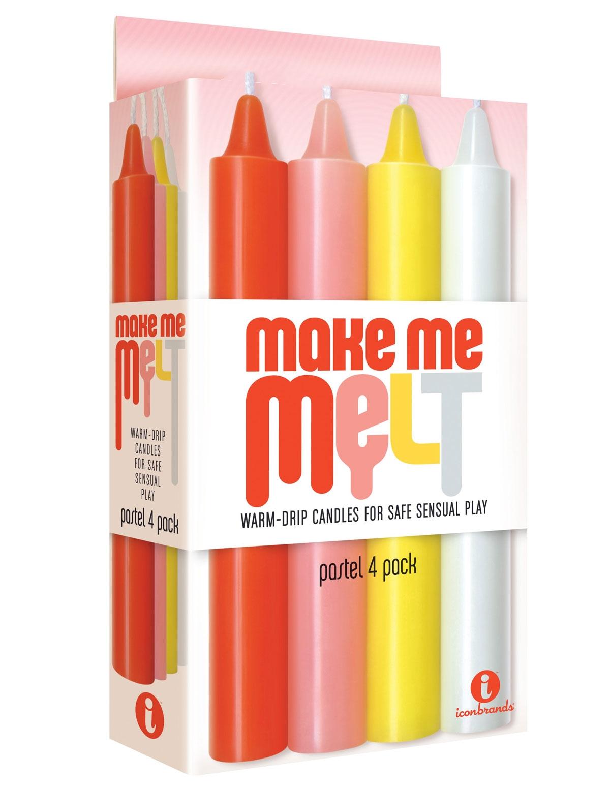 Make Me Melt Pastel Drip Candles