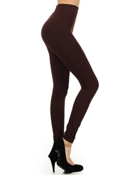 SEAMLESS BROWN LEGGINGS
