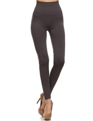 SEAMLESS CHARCOAL LEGGINGS