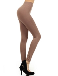 SEAMLESS TAN LEGGINGS