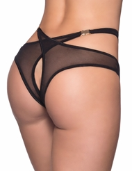 LUXURY IN THE BACK BUCKLE CLIP PANTY