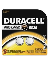 DURACELL CR 2032 BATTERIES 2 PACK