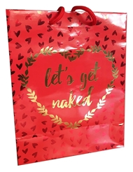 LETS GET NAKED GIFT BAG