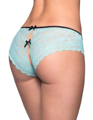 CLASSIC LACE HIPSTER WITH BOWS