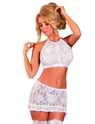 ANGELIC LACE SKIRT SET