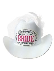 BRIDE COWGIRL HAT