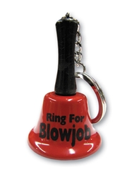 RING FOR BLOWJOB KEYCHAIN