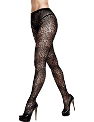 LACE PANTYHOSE - PLUS