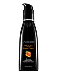 AQUA SWEET PEACH LUBRICANT 4 OZ