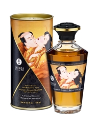 APHRODISIAC WARMING OIL CARAMEL KISSES