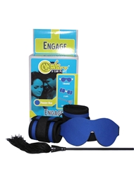 ENGAGE PASSION BLUE BONDAGE KIT