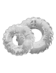 TRUCKT COCKRING SET 2-PACK CLEAR