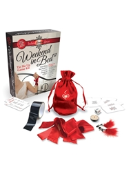 WEEKEND IN BED ALL TIED UP GAME SET