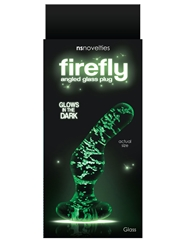 FIREFLY GLASS ANGLED BUTT PLUG